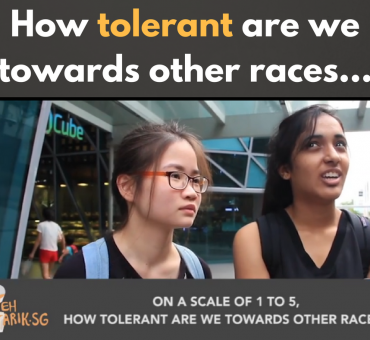 How tolerant are we towards other races...