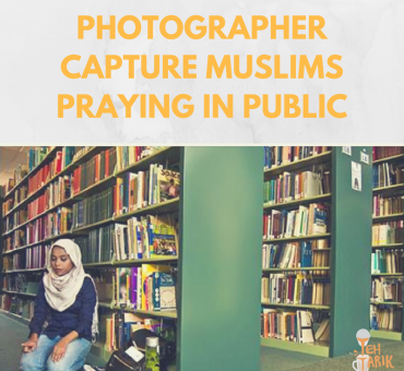 PHOTOGRAPHERS CAPTURE MUSLIMS PRAYING IN PUBLIC